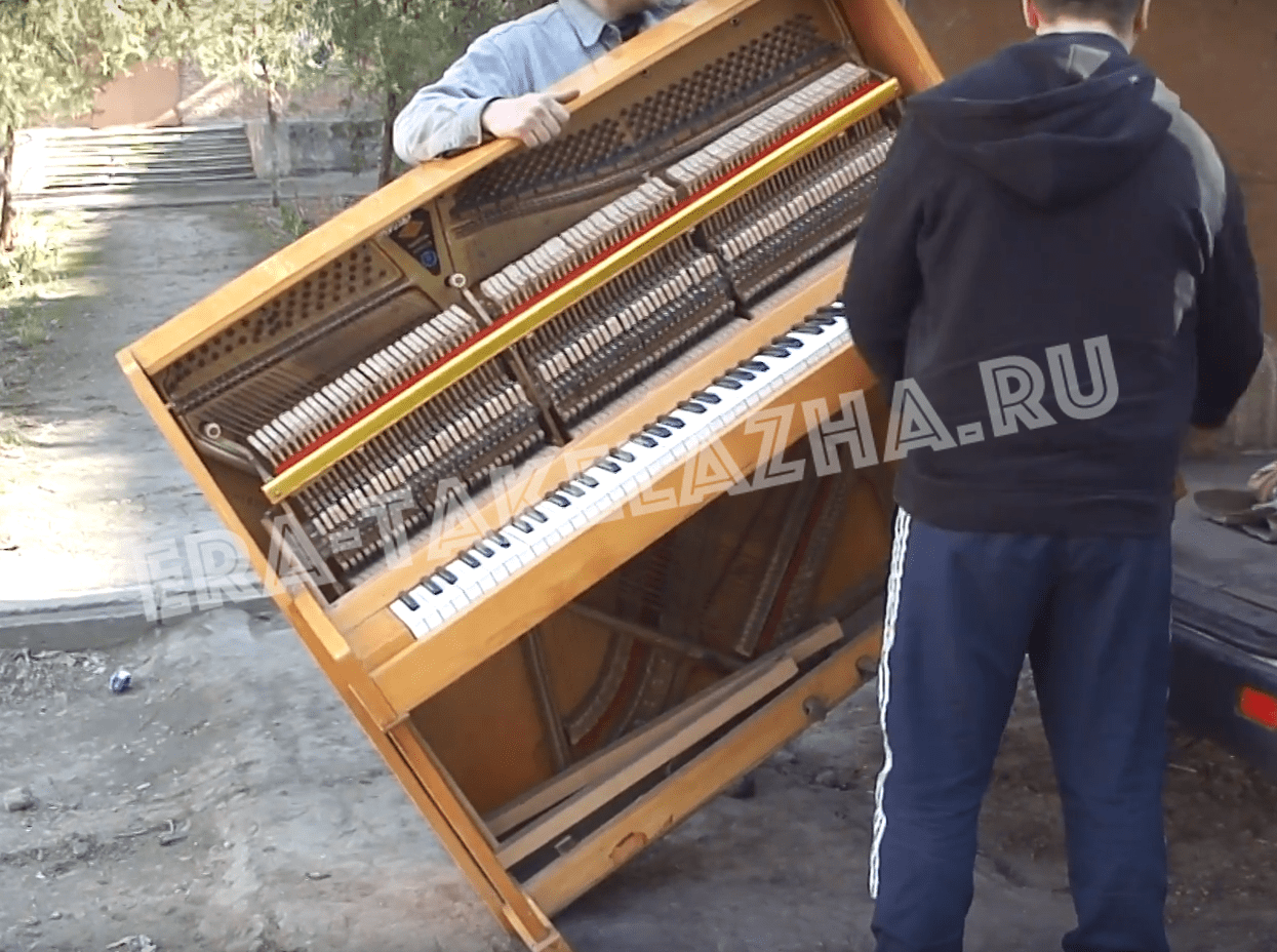 Почему перевозка фортепиано – это такелажные работы?